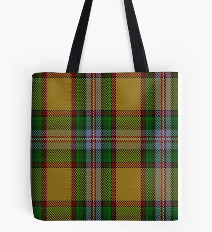 00111 Essex County (Ontario) Tartan Tote Bag