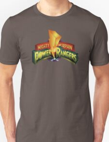 Mighty Morphin Power Rangers Logo Unisex T-Shirt