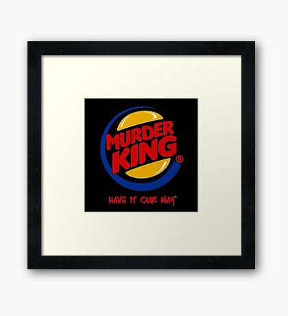 Murder King  Framed Print