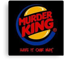 Murder King  Canvas Print