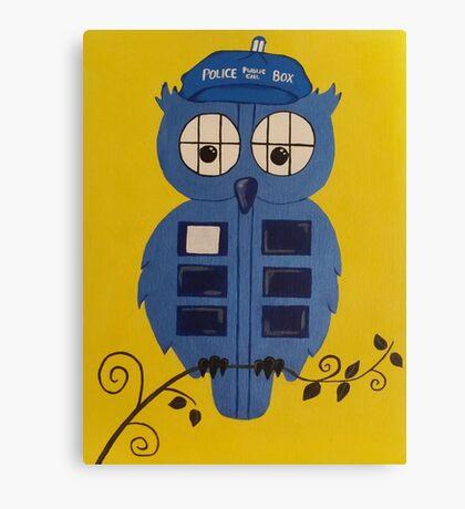 WHO OWL Canvas Print