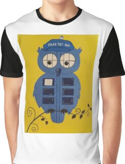 WHO OWL Graphic T-Shirt