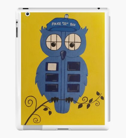 WHO OWL iPad Case/Skin