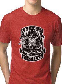 Valhalla Destined - Inverted  Tri-blend T-Shirt
