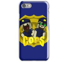 Unturned -  (Cops) - by Quikdraw iPhone Case/Skin