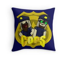 Unturned -  (Cops) - by Quikdraw Throw Pillow