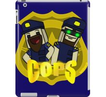 Unturned -  (Cops) - by Quikdraw iPad Case/Skin