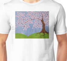 Butterfly Cherry Blossom Unisex T-Shirt