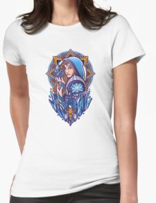 Crystal Maiden Womens Fitted T-Shirt