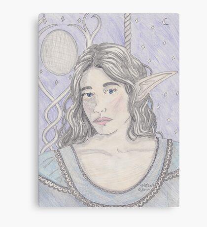 Elf Maiden Canvas Print