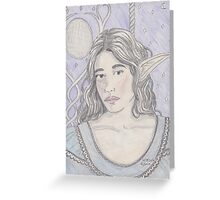 Elf Maiden Greeting Card