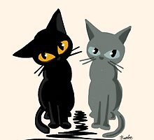 Black and gray by BATKEI