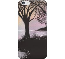 evening sky iPhone Case/Skin