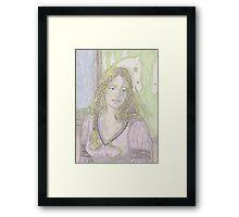 Fantasy Woman Framed Print