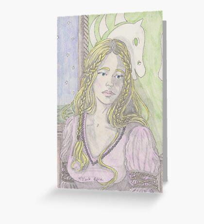 Fantasy Woman Greeting Card