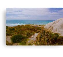 To Surf Beach, North island New Zealand Canvas Print
