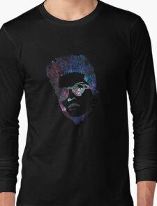 Bruno Mars Typhography Long Sleeve T-Shirt