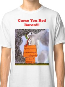 Curse you Red Baron! Classic T-Shirt