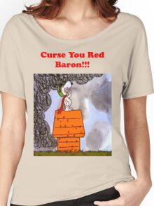 Curse you Red Baron! Women's Relaxed Fit T-Shirt