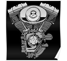 V - Twin Engine Poster