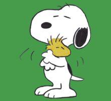 hug Peanuts Snoopy Kids Tee