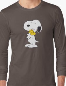 hug Peanuts Snoopy Long Sleeve T-Shirt
