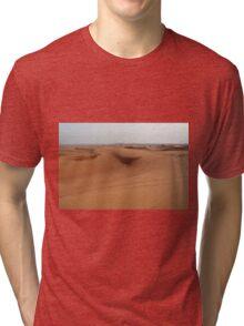 Sand dunes, desert natural background. Tri-blend T-Shirt
