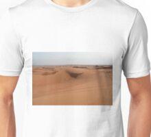 Sand dunes, desert natural background. Unisex T-Shirt