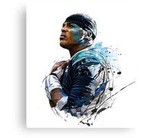 Cam Newton- 2015 MVP Canvas Print