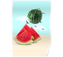 watermelon imaginary Poster