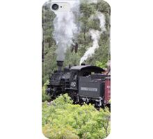 Steam train engine, Colorado, USA 9 iPhone Case/Skin