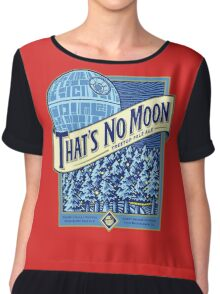 Thats no moon Chiffon Top
