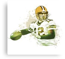 Aaron Rodgers- GB Packers Canvas Print
