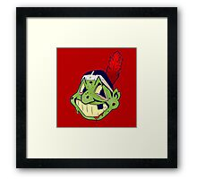 Smiling Chief Framed Print