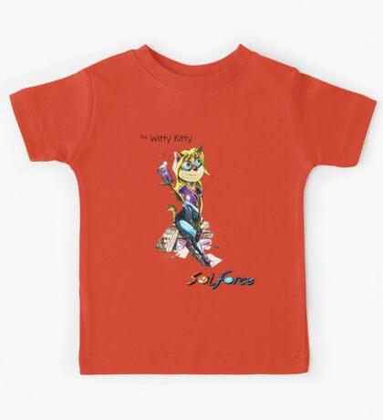 SolForce- The Witty Kitty Kids Tee
