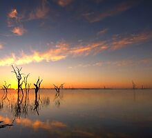 Good morning - Lake Mulwala by Hans Kawitzki