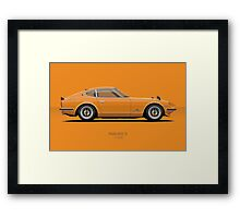 Fairlady 240z Orange Framed Print