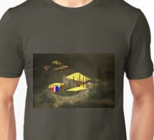 Two Royal Flying Corps Vickers Gunbuses 1914 Unisex T-Shirt