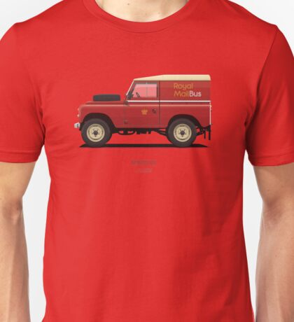 Series 3 Station Wagon 88 Royal Mail Bus Unisex T-Shirt