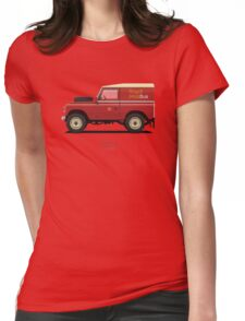 Series 3 Station Wagon 88 Royal Mail Bus Womens Fitted T-Shirt