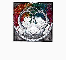 Rainbow Heart tree mandala Unisex T-Shirt