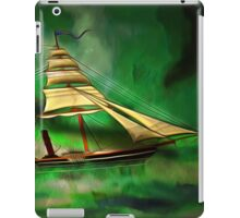An Early American Sailing Ship/Paddle Steamer iPad Case/Skin