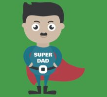 dad super for fams Baby Tee