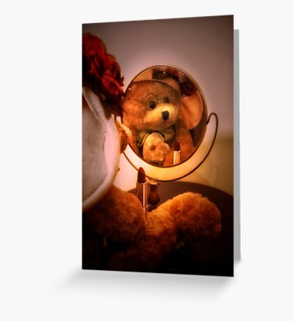 Bear Stories:  Playing Dress Up Greeting Card