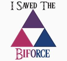 I Saved The Bi-force One Piece - Short Sleeve