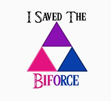 I Saved The Bi-force Unisex T-Shirt