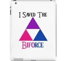 I Saved The Bi-force iPad Case/Skin
