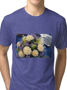 bouquet of roses Tri-blend T-Shirt