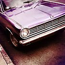 Purple Dodge Vintage Muscle Car by OneDayOneImage Photography