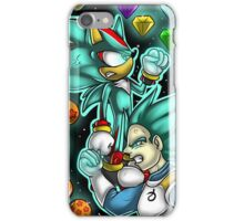 God Mode Reached +Shadow and Vegeta+ iPhone Case/Skin